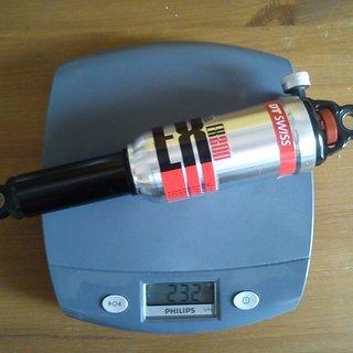 Gewicht DT Swiss Dämpfer EX 200 222 x 63,5mm