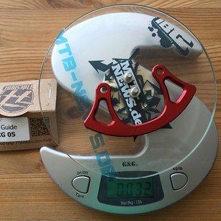 Gewicht 77designz Bashguard Crash Plate 34t, ISCG05