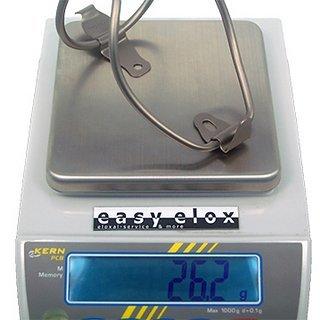 Gewicht XtasY Flaschenhalter Titan Flaschenhalter