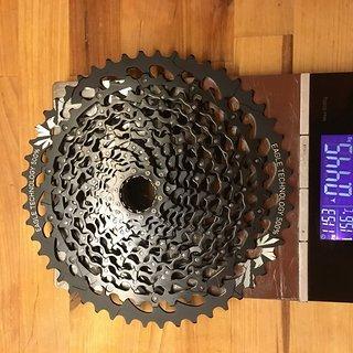 Gewicht SRAM Kassette GX Eagle 10-50 Zähne