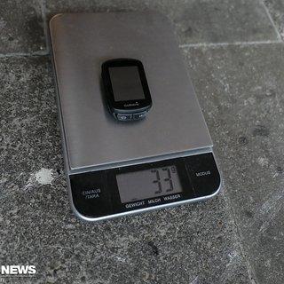 Gewicht Garmin GPS Edge 130
