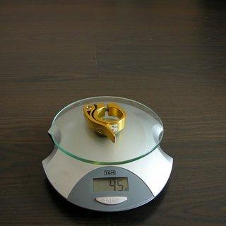 Gewicht Sixpack Sattelklemme Cock Ring 34.9mm