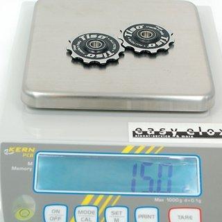 Gewicht Tiso Schaltröllchen Schaltröllchen (Al) 11 Zähne