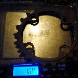 Gewicht Tune Kettenblatt Triebtreter AL 64mm, 22Z