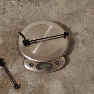 Gewicht Mavic Schnellspanner Crossride 135mm