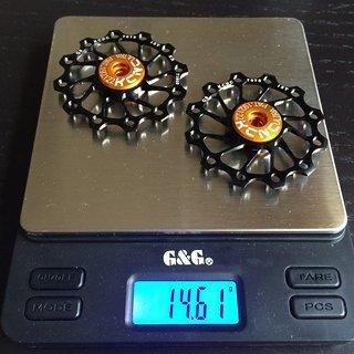 Gewicht KCNC Schaltröllchen Ultra Light 12 Zähne