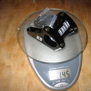 Gewicht ODI Vorbau Flight Control 31.8mm, 50mm, 0°