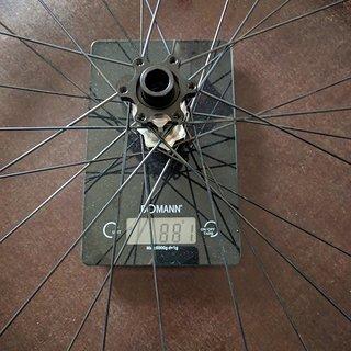 Gewicht DT Swiss Systemlaufräder Spline E1650 Vorderrad 27.5