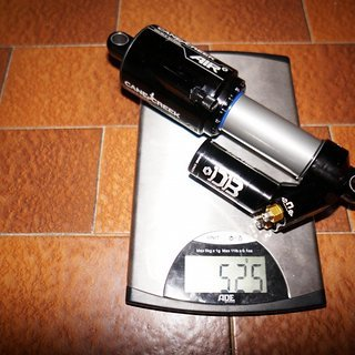 Gewicht Cane Creek Dämpfer Cane Creek Double Barrel Air 215