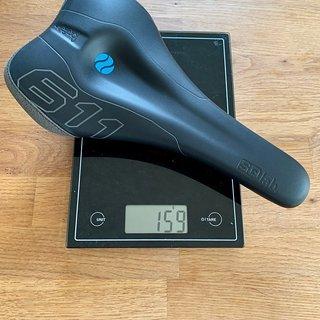 Gewicht SQ-Lab Sattel 611 Ergowave Carbon 14 cm