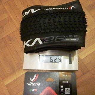 Gewicht Vittoria S.p.A. Reifen AKA 26x2.2