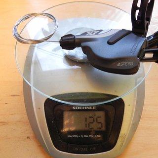Gewicht SRAM Schalthebel X7 Trigger  2-fach