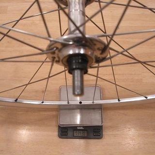 """Gewicht Campagnolo Systemlaufräder Record Pista - KinLin XR-200 - Sapim Laser 28"""", VR, 100mm"""