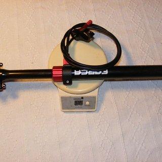 Gewicht Forca Sports Sattelstütze höhenverstellbar SPS 350 Vario 27,2 x 350mm