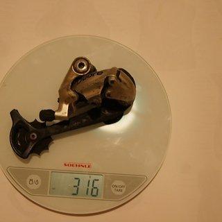 Gewicht Shimano Schaltwerk Deore RD-M591 SGS Long Cage