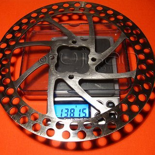 Gewicht Coda Bremsscheibe Expert 171mm
