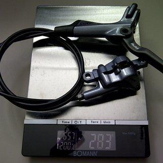 Gewicht Avid Scheibenbremse Elixir 3  HR, 1360mm