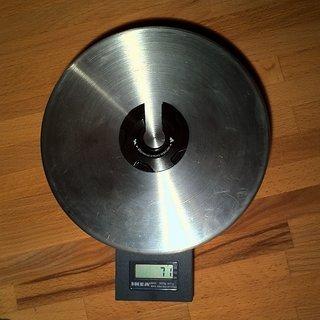 Gewicht Rock Shox Feder Vivid Federteller Stahl
