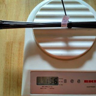 Gewicht DT Swiss Speiche Revolution 294mm, 32 Stück