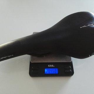 Gewicht Pro Parts Sattel Turnix Ti 132mm