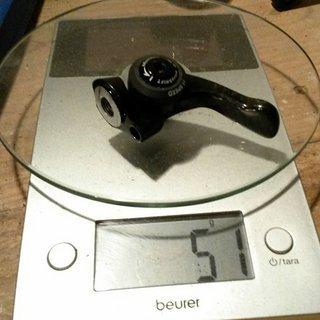 Gewicht MicroShift Schalthebel BS-C11 tuned 2 fach
