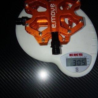 Gewicht UNION Pedale (Platform) SP-1090 80x95