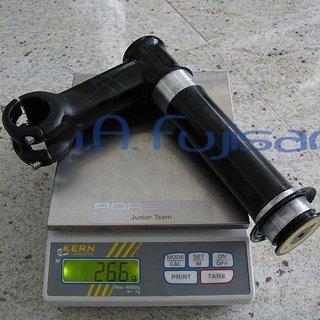 Gewicht Cannondale Vorbau XC3 SI 31.8mm, 120mm, 5°