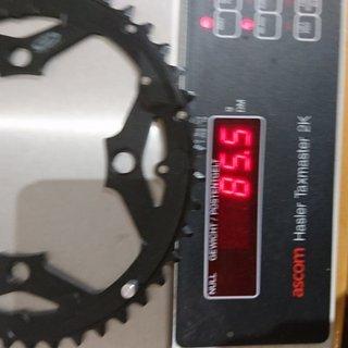 Gewicht Shimano Kettenblatt Hone FC M600 104mm, 44Z