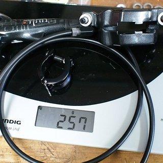 Gewicht Avid Scheibenbremse Code R VR, 950mm