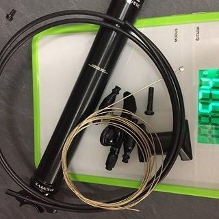 Gewicht BikeYoke Sattelstütze höhenverstellbar Revive  30,9mm 160mm