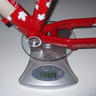 """Gewicht Red Bull Hardtail WSP AM 15"""""""