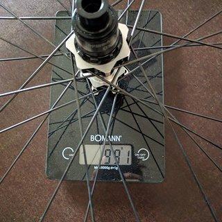 Gewicht DT Swiss Systemlaufräder Spline E1650 Hinterrad 27.5