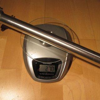 Gewicht Thomson Sattelstütze Elite 30.9 x 410mm
