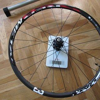 Gewicht Fulcrum Systemlaufräder Red Metal 3 HR, 135mm/QR