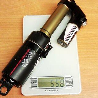 Gewicht BOS Dämpfer Void 267 x 89mm