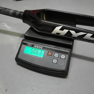 "Gewicht Hylix Starrgabel Carbongabel 29"", 1-1/8"""