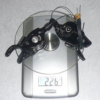 Gewicht SRAM Schalthebel X0 Trigger