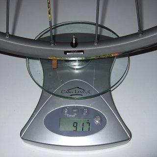 Gewicht Mavic Systemlaufräder Crossmax SX VR, 100mm/QR