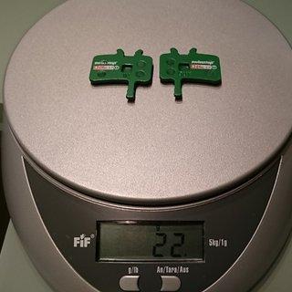 Gewicht SwissStop Bremsbelag Disc 17 AVID Juicy 3/5/7
