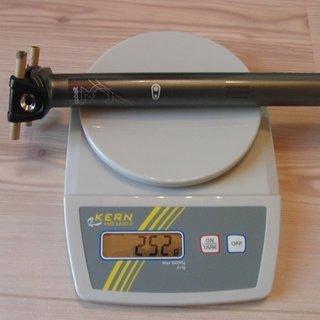 Gewicht Crank Brothers Sattelstütze Cobalt 3 27,2 x 400mm