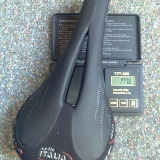 Gewicht Selle Italia Sattel SLR XC Gel Flow