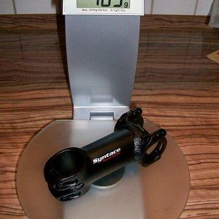 Gewicht Syntace Vorbau Superforce 31.8mm, 90mm, 6°