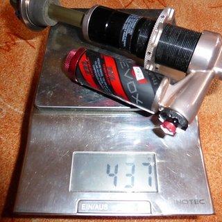 Gewicht Manitou Dämpfer Revox Pro 216 x 63mm