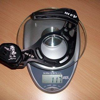 Gewicht MRP Kettenführung Lopes Sl 32-38Z, ISCG-05