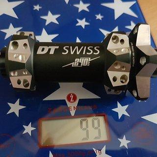 Gewicht DT Swiss Nabe 240s Straitpull 28Loch IS 100x15 100x15