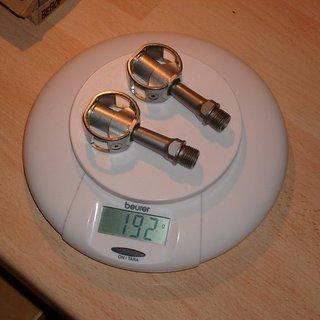 Gewicht VPOne Pedale (Klick) Bebop Stainless BBP-21