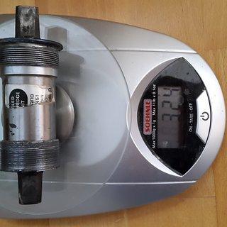 Gewicht Shimano Innenlager BB-UN51 4-kant, 68/113mm, BSA