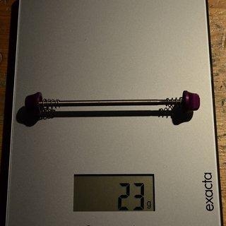 Gewicht Controltech Spannachse Titan front 100