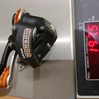 Gewicht Sachs Schaltwerk DI.R.T. Plasma (SRAM)