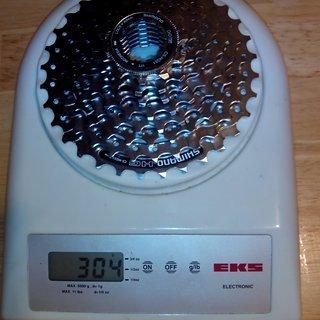 Gewicht Shimano Kassette Alivio CS-HG51-8 8-fach, 11-32Z